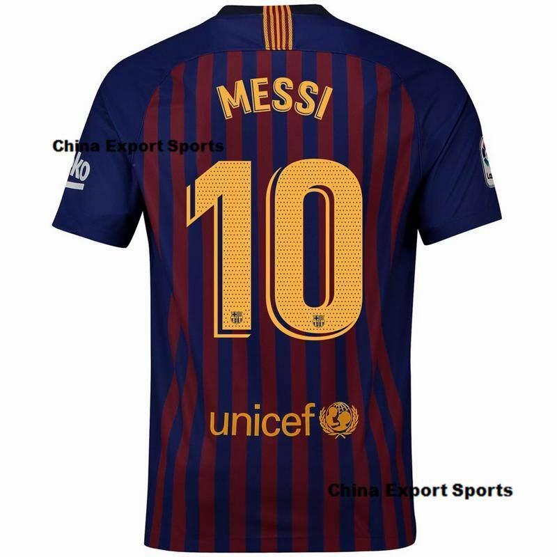 2fa5e5cd4 2018 2019 New Season Barcelona NO.10 messi Home and Away Football Jersey  away