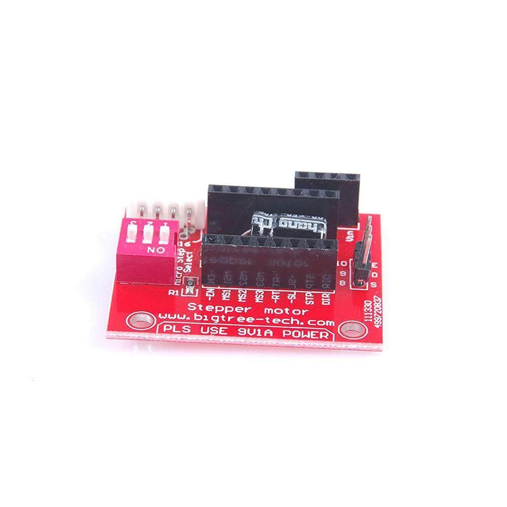 5 Pcs/set A4988/DRV8825 3D Printer Motor Steper Kontrol Kemudi Ekstensi Papan Perisai Spesifikasi: A4988/DRV8825