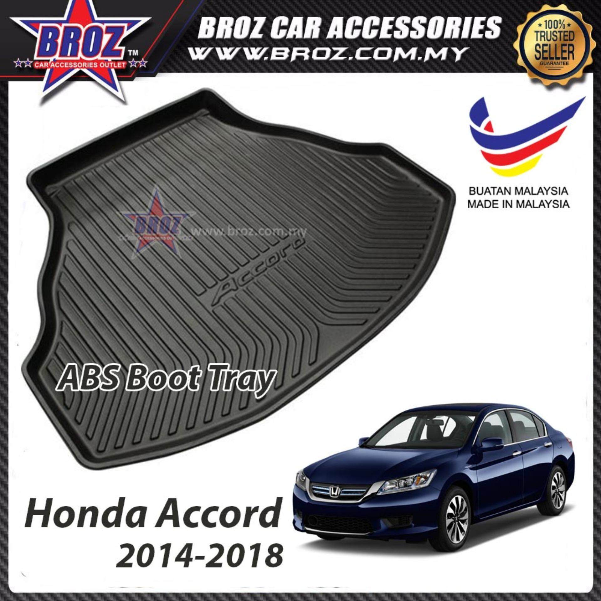 Honda Accrod 2013-2018 ABS Car Rear Boot Trunk Tray