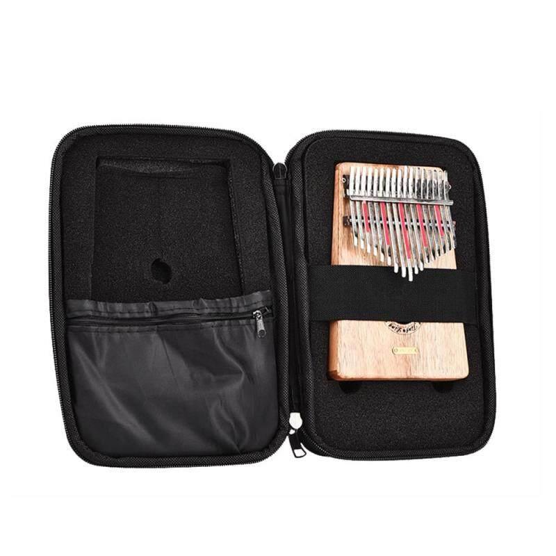 10 Keys 17 Keys Kalimba Case Thumb Piano Mbira Portable Box Bag Black Malaysia