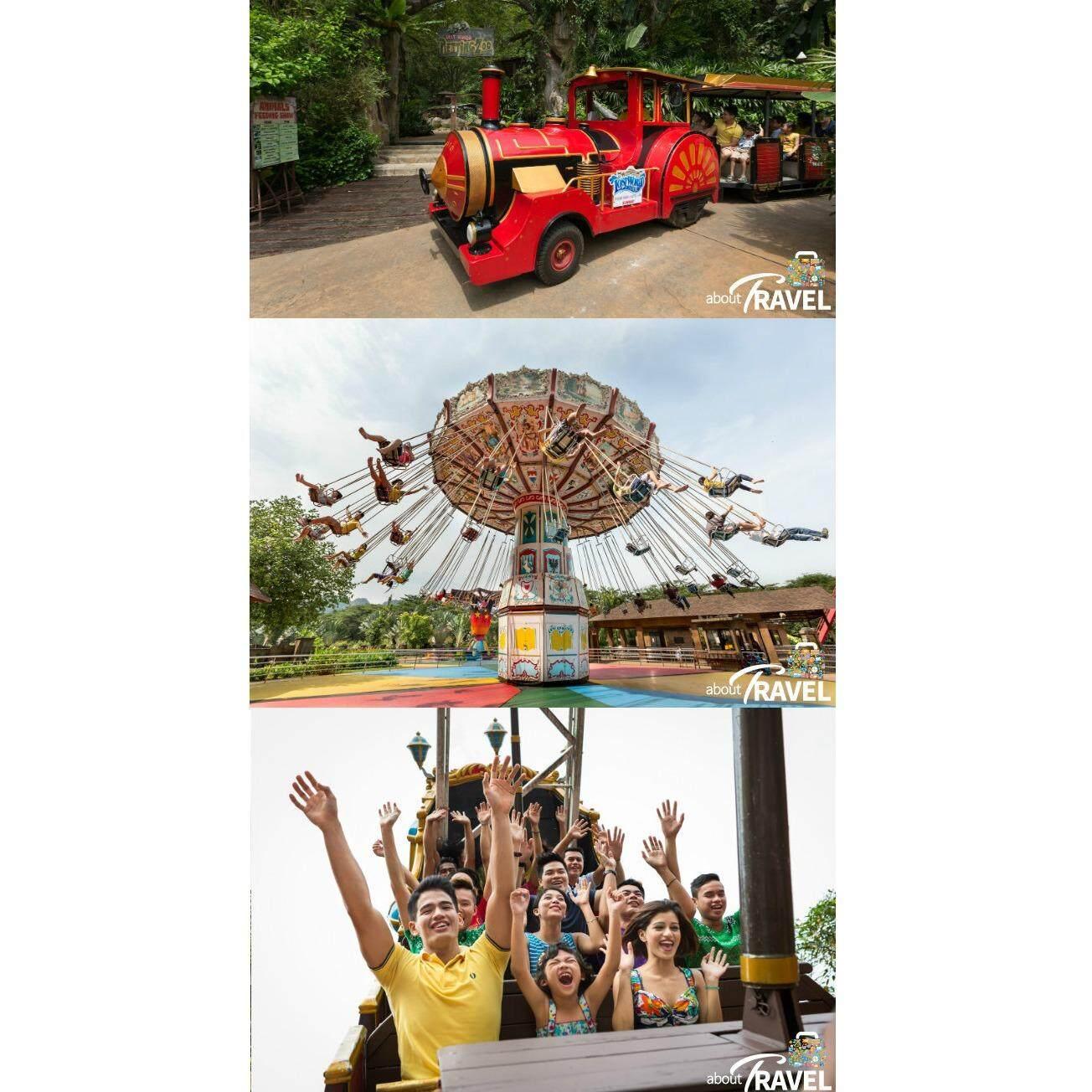 Ipoh : Lost World of Tambun Water Theme Park + Hot Spring - Adult [Non Malaysian]