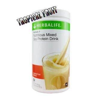 Herbalife formula 1 Tropical Fruit Canister 550g (Ready stock) 100% Original