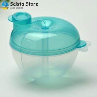 การตรวจสอบของ Portable Mini Baby Travel Milk Powder Dispenser Storage Feeding Box Case ซื้อ - มีเพียง ฿48.32