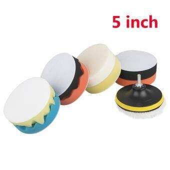 Giá ưu đãi YBC 11Pcs Polishing Waxing Buffing Sponge Pads Kit Compound Car Polisher Tools Kit so sánh