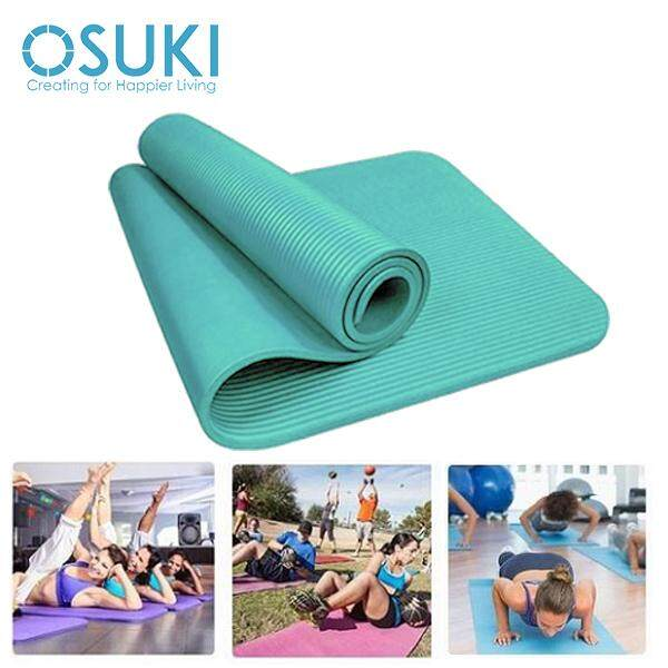 OSUKI Yoga Mat 10mm Non Slip Sports Authentic Fitness Mint Green