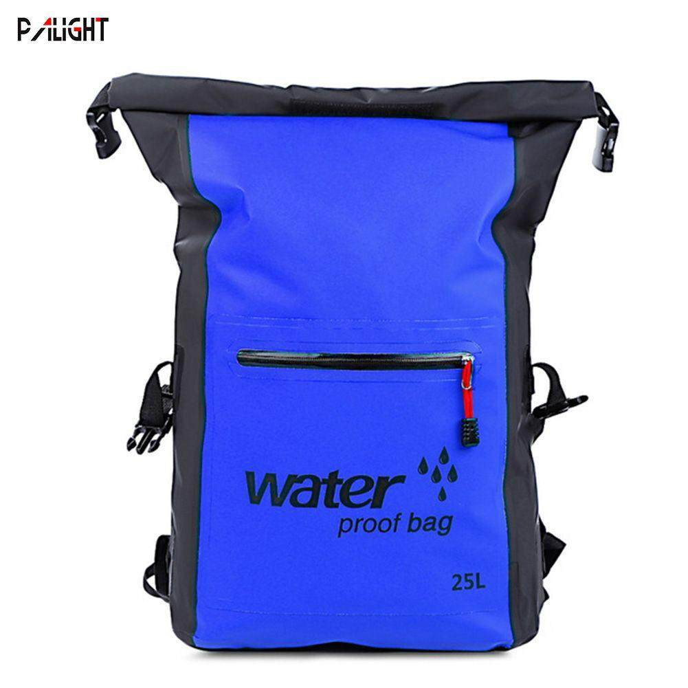 Palight Outdoor Waterproof Backpack Lightweight Storage Collapsible Pack Rafting Camping Sailing Bag By Palight.