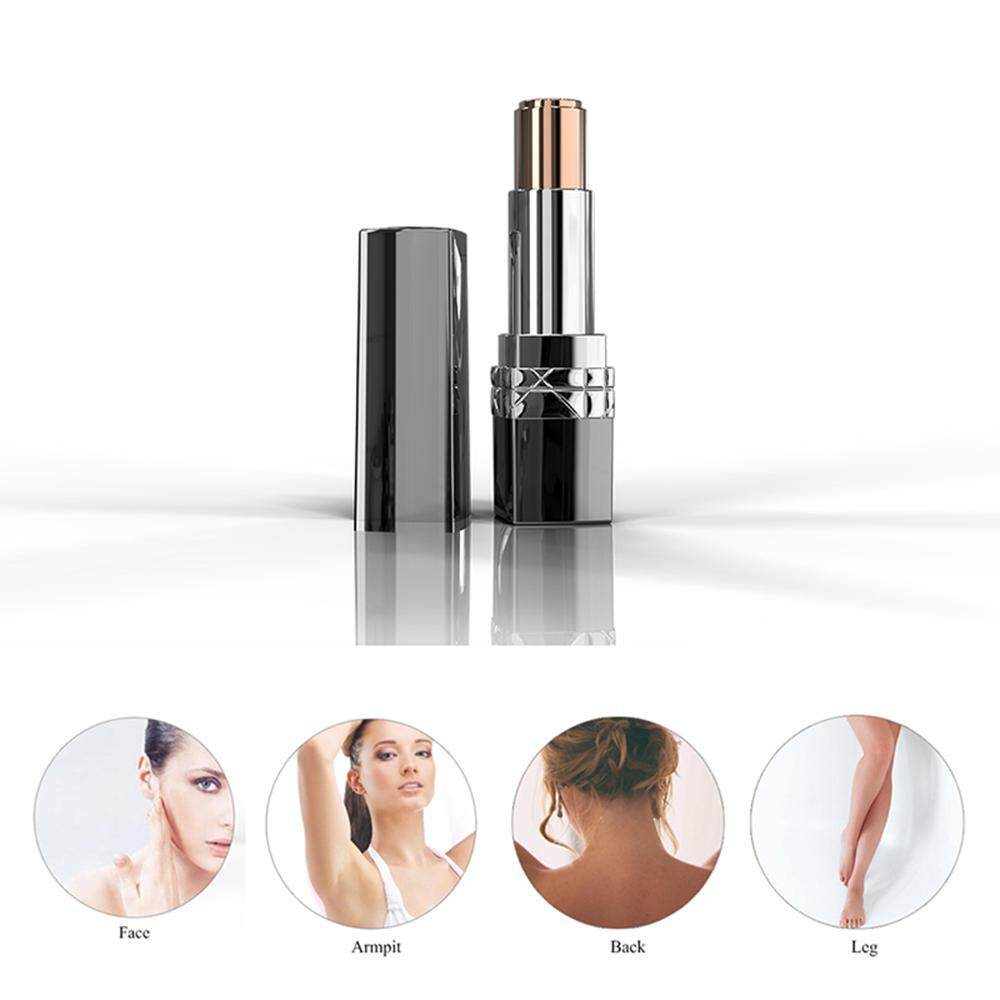 Aolvo Facial Hair Removal For Women,portable Painless Womens Hand Leg Hair Remover All-In-One Facial Trim Mini Travel Size By Aolvo.