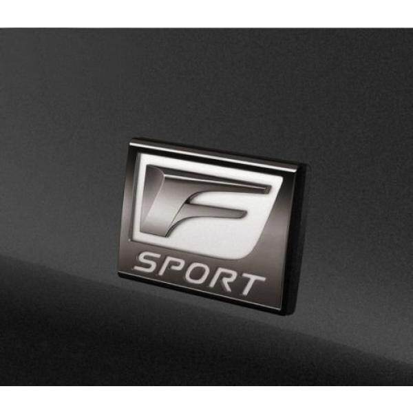 3d Metal Alloy F Sport Fender Badge Emblem Sticker for Lexus Is250/350/is-f Decorative Car / From USA