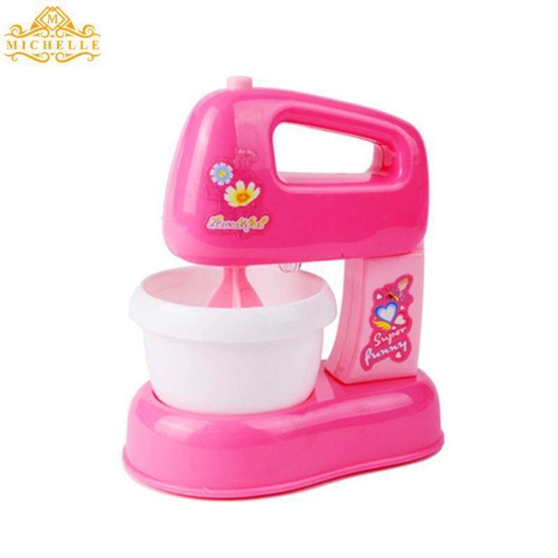 Mixer Dapur Rumah-rumahan Warna-warni Blender Pengolah Makanan Anak-anak Mainan Anak