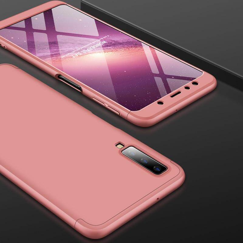 For Samsung Galaxy A7 2018 Case 360 Full Protection 3 IN 1 Ultra Thin Hard PC