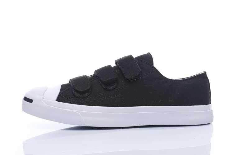 Discount! Hot Sale 2018 Unisex Convers Low Top Jack Purcell Women's and Men's Sneakers Classic Canvas Casual Shoes Color: Black - intl