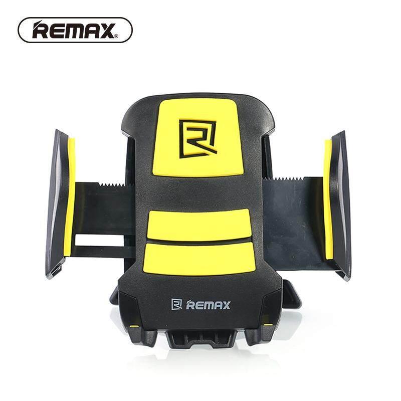 REMAX Universal Car Phone Holder Air Vent Outlet Mount with Sponge Mat Spring Hook Mobile Holder