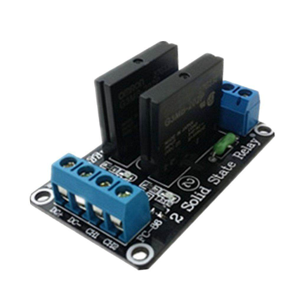 Buy Sell Cheapest Cloudsea 24v 48w Best Quality Product Deals Solid State Relay Reprap 2 Channel G3mb 202p Module With Resistive Fuse 240v 2a