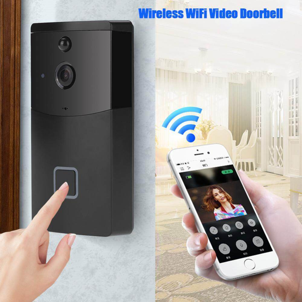 Wireless WiFi Doorbell Video Camera Phone Ring Intercom Night Vision Home Build Security - intl
