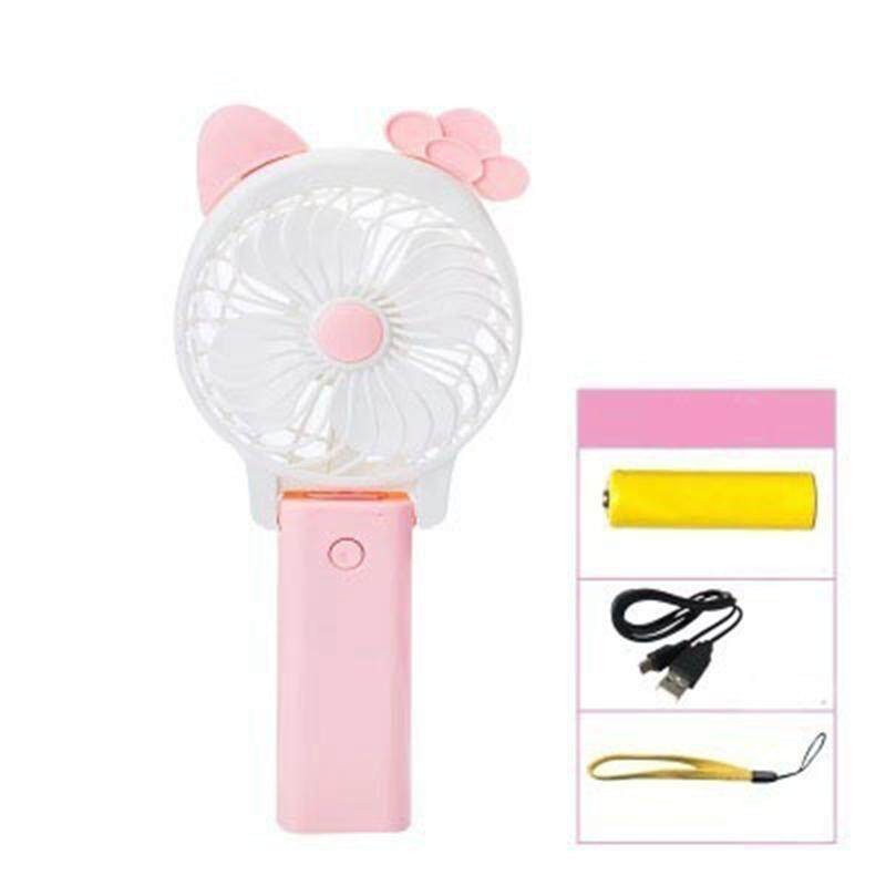 Bảng giá Cute Mini USB Electric Fan Portable Hand Fan Operated USB Power Foldable Student Handheld Fan Phong Vũ