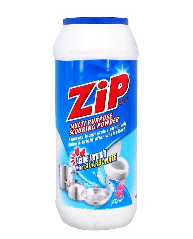 Zip Multi Purpose Scouring Powder Floral 500g