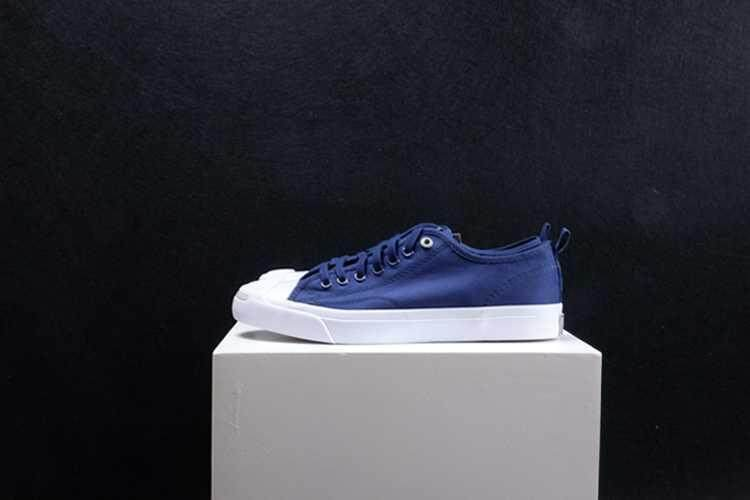 Discount! Hot Sale 2018 New Style Unisex Convers Jack Purcell x Hancock Low Top Women's and Men's Sneakers Canvas Casual Shoes Color: Blue - intl