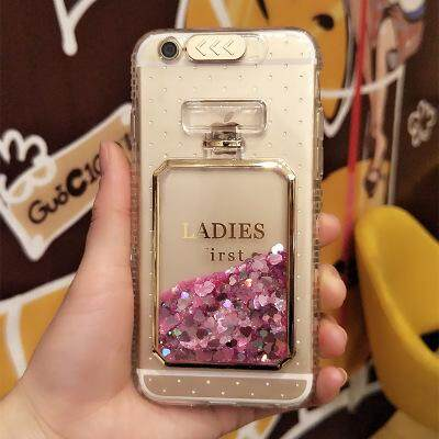 Luxury Bling Stars Dynamic Liquid Quicksand Clear Phone Case For iPhone 6 S 7 8 6S