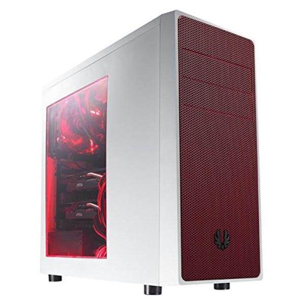 BitFenix Computer Case Cases BFC-NEO-100-WWWKR-RP White/Red Malaysia