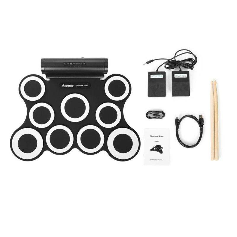 Beau Roll Up Electronic Drum Set Kits 3009 9 Pads Built-in Speakers For Practice