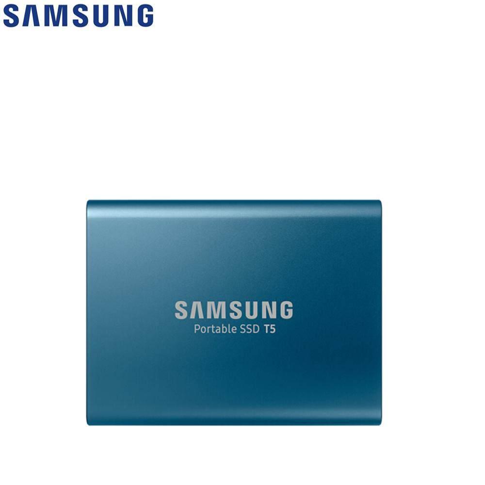 Samsung T5 SSD Portable Solid State Drive dengan USB 3.1/Enkripsi Perangkat Keras