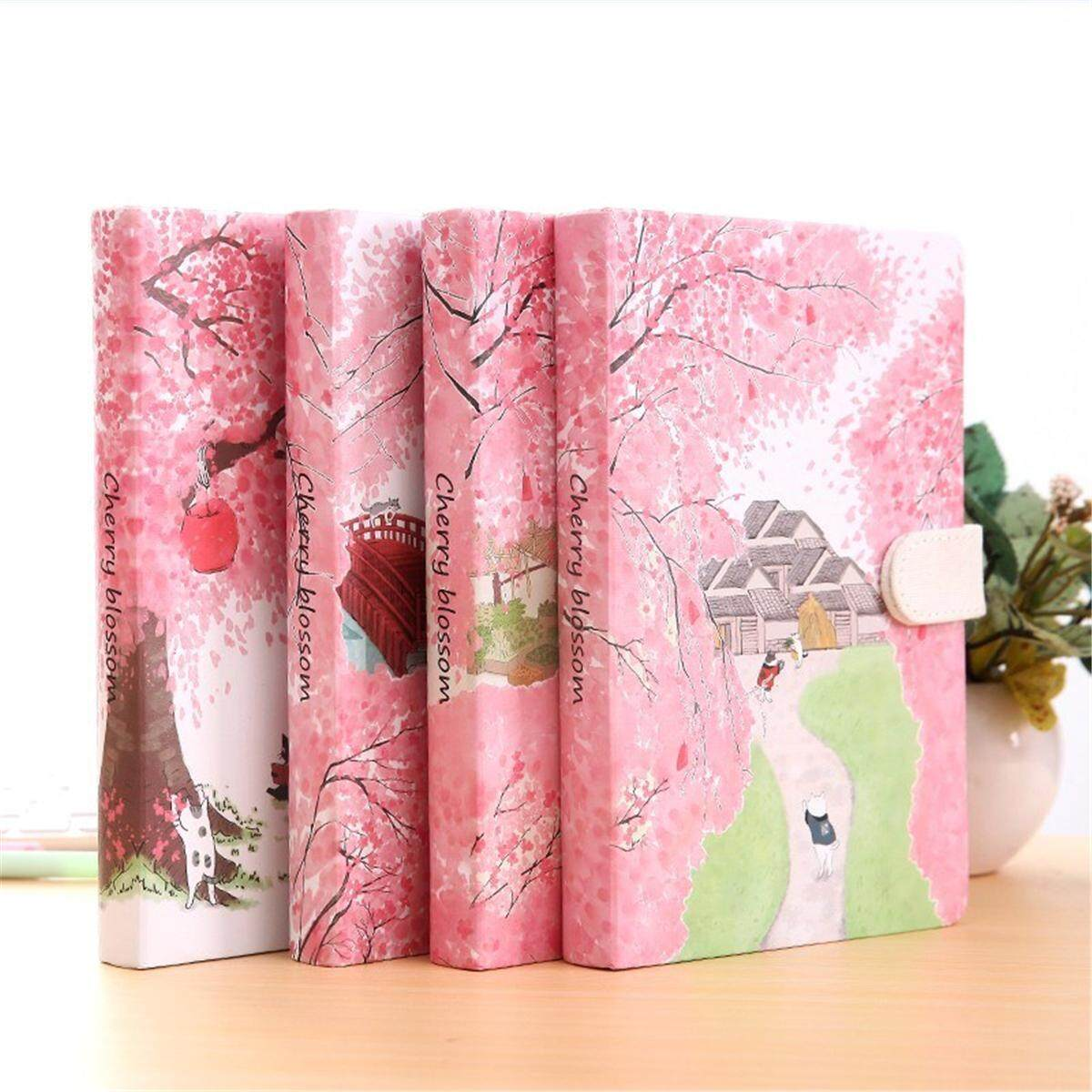 Mua Pink Diary Planner Notebook 128 Sheets Lined Paper Hard Cover Journal Writing Book For Office School