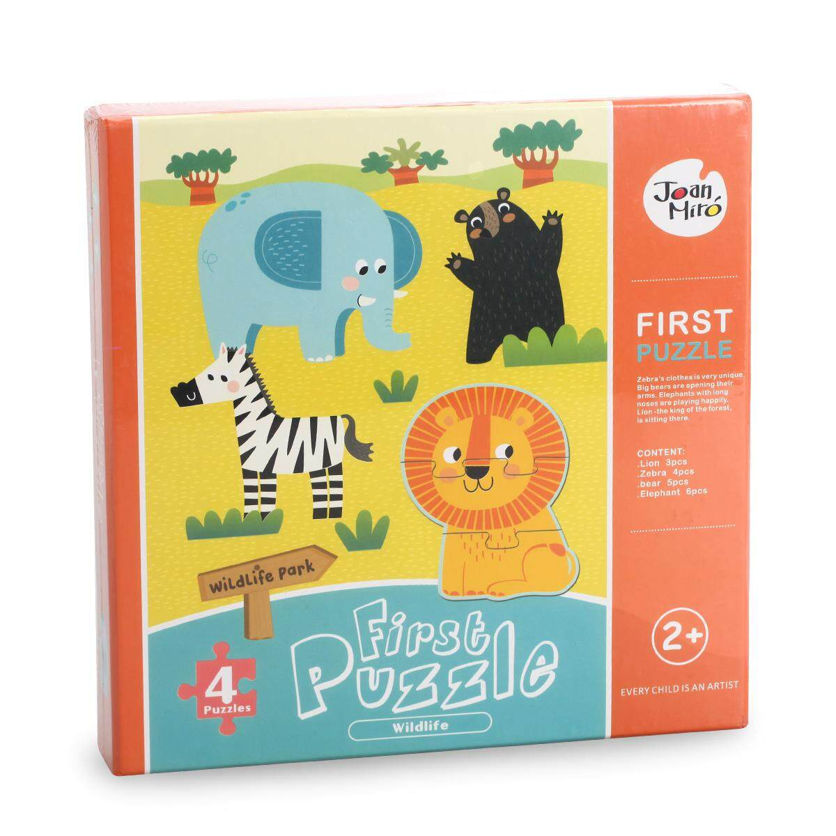 4d1108a16903 Merlot Children s Puzzle Paper Make-up Animal Educational Toy 0-3--Year