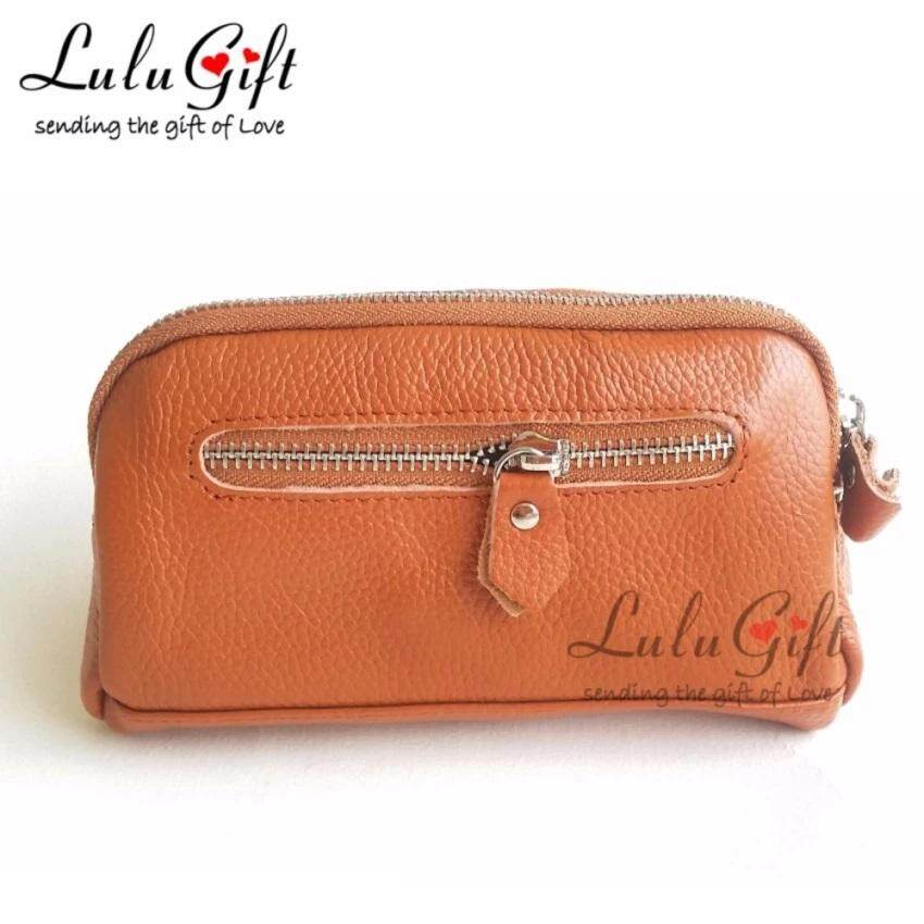 Lulugift Genuine Leather Multiple Function Pochette