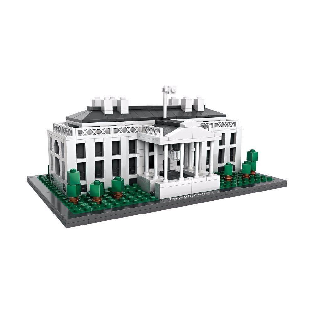 Features Presidential Palace Of Usa White House Washington America Loz Nano Block Nanoblock Kung Fu Panda Po Mini Diamond Building World Famous Architecture