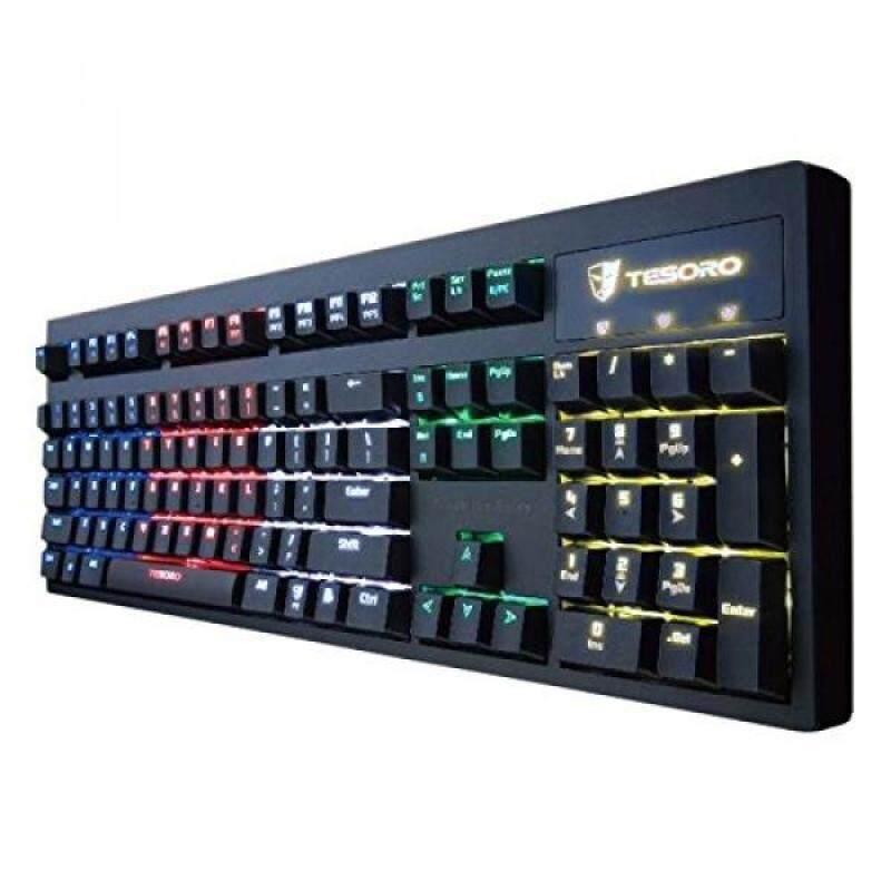 Tesoro Excalibur Mechanical Switch RGB LED Backlit Illuminated Gaming Keyboard (TS-G7NFL (BW)) Singapore
