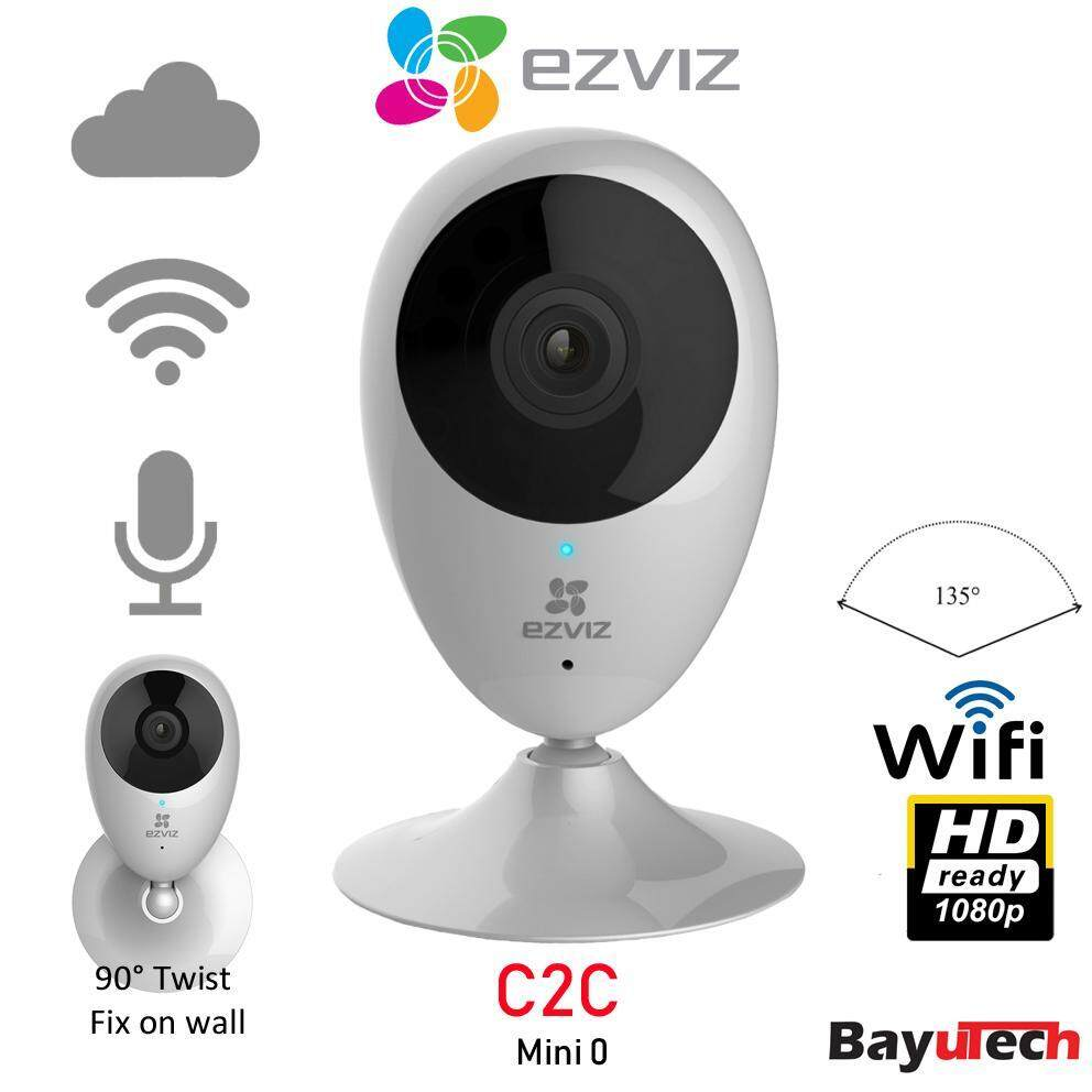 EZVIZ C2C Mini O Plus 1080p - Wireless Wi-Fi Cloud CCTV IP Camera