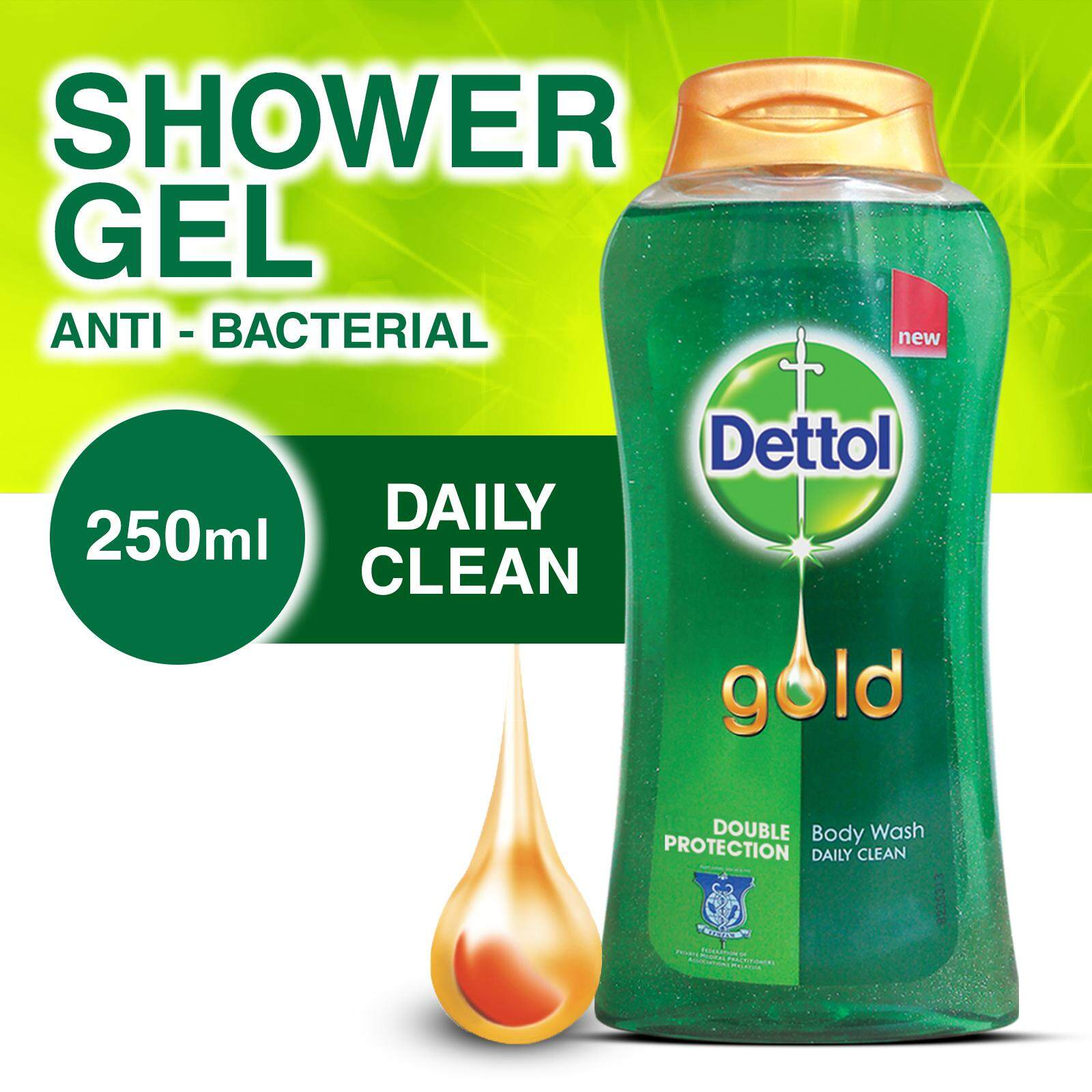 Dettol Body Wash Daily Clean 250ml