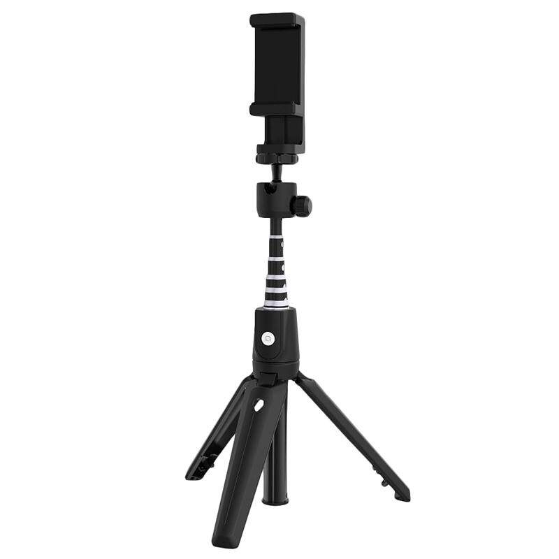 Aluminum Alloy Tripod Bluetooth Selfie Stick K20 3 in 1 with Bluetooth Remote Control for Xiaomi Samsung Huawei Iphone