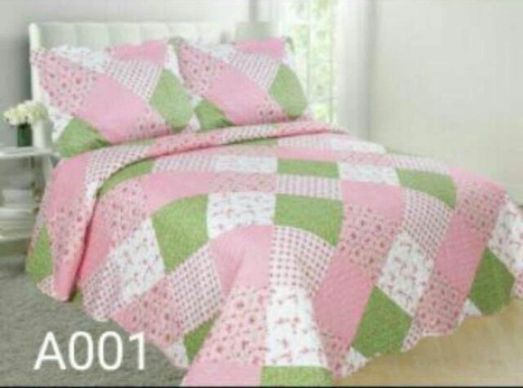 cadar patchwork bedsheet queen size 3 in 1