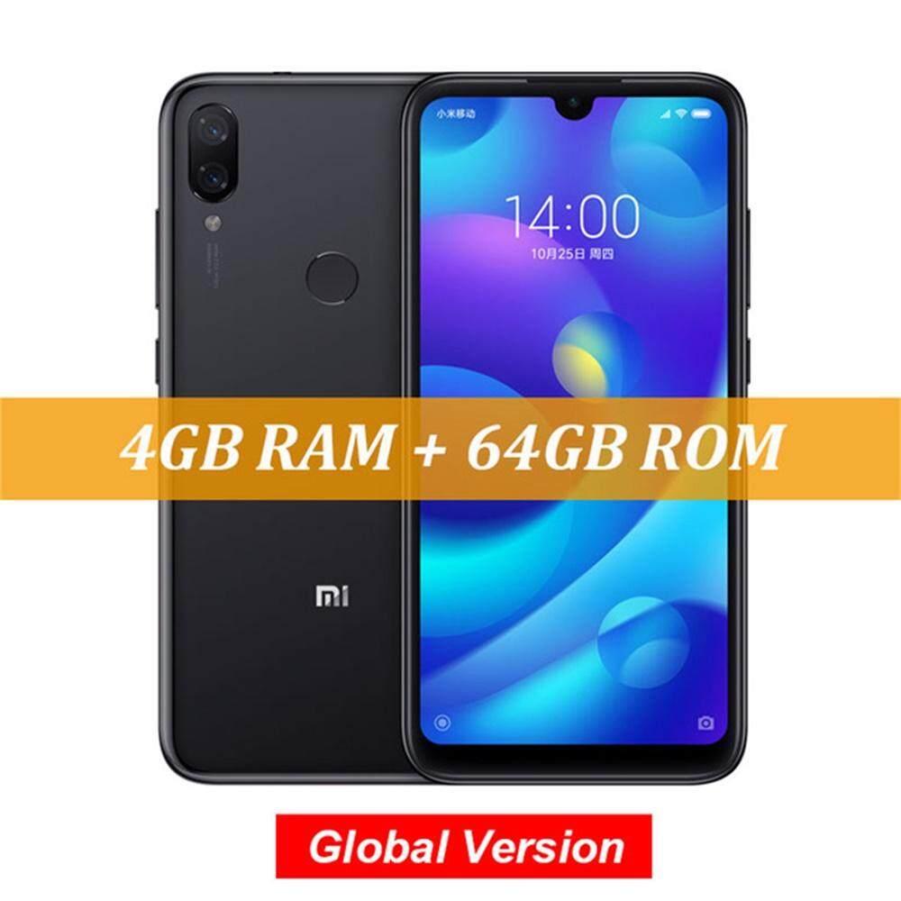 ยี่ห้อไหนดี  ยโสธร Global Xiaomi Mi Play 4 GB/6 GB RAM 64GB ROM 5.84 นิ้ว FHD จอแสดงผล MTK Helio P35 Octa core 12MP Dual กล้องโทรศัพท์มือถือ OTA-US Plug