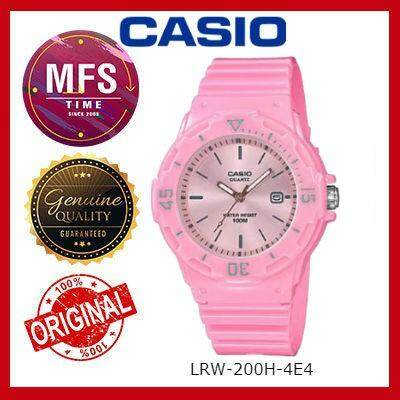 2 YEARS WARRANTY) CASIO ORIGINAL LRW-200H-4E4 SERIES STUDENT & KID'S WATCH