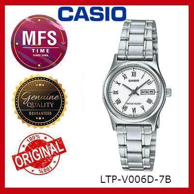 (2 YEARS WARRANTY) CASIO ORIGINAL LTP-V006D SERIES ANALOG-LADIES WATCH