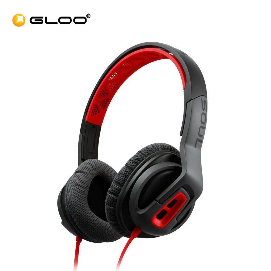 Soul Transform On Ear-Headphones (Fire Red) 840311100309
