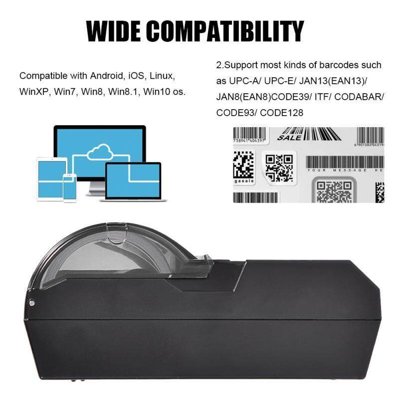 Printers - USB Bluetooth Thermal Receipt Printer POS Printing for iOS Android Windows - [UK PLUG / EU PLUG]
