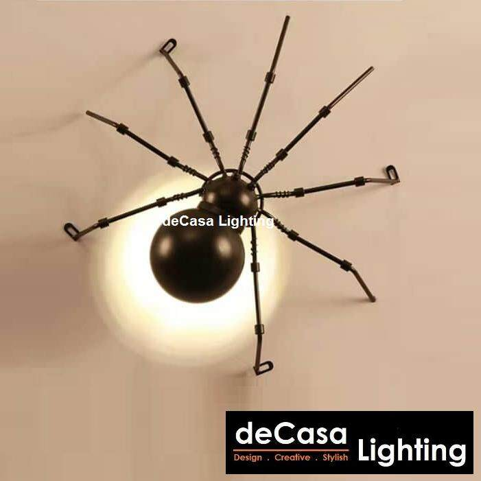 Vintage Wall Light Loft LED Wall Light Decasa Lighting Spider Wall Mounted Lights Bedroom Decorative Lamp Home Lighting Modern Wall Sconces (FP-SPIDER-WALL-S)