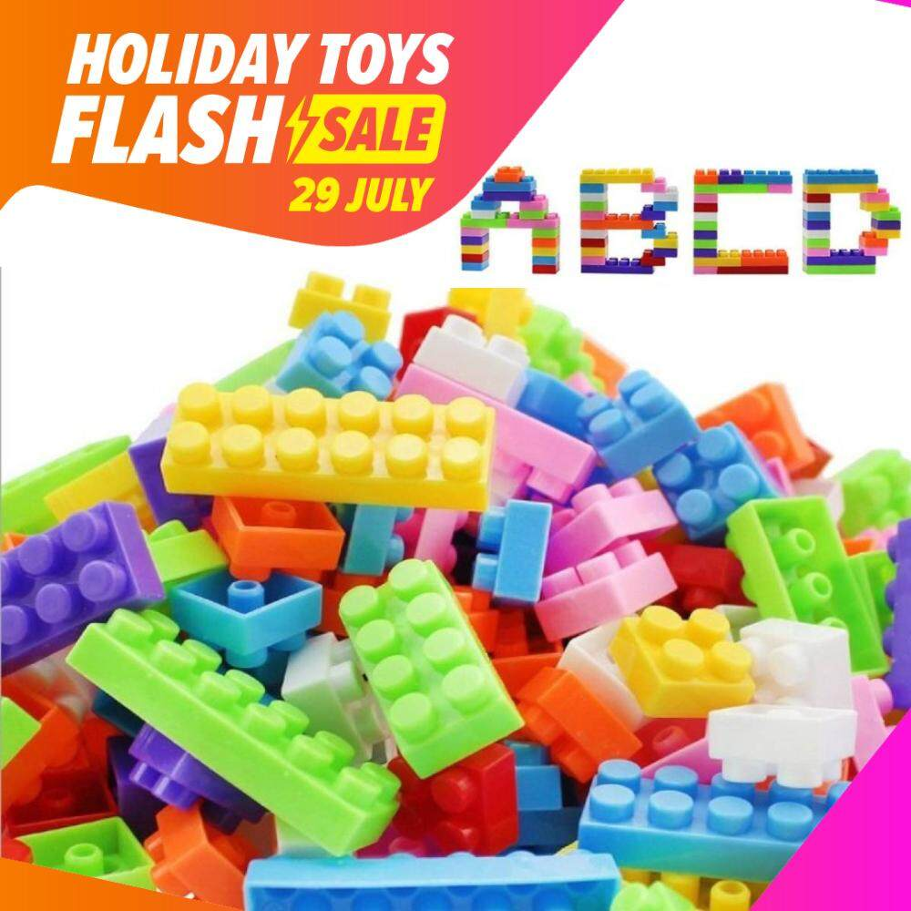 SOKANO 144 Pcs Creative Colourful BPA Free Blocks Pack For Kid