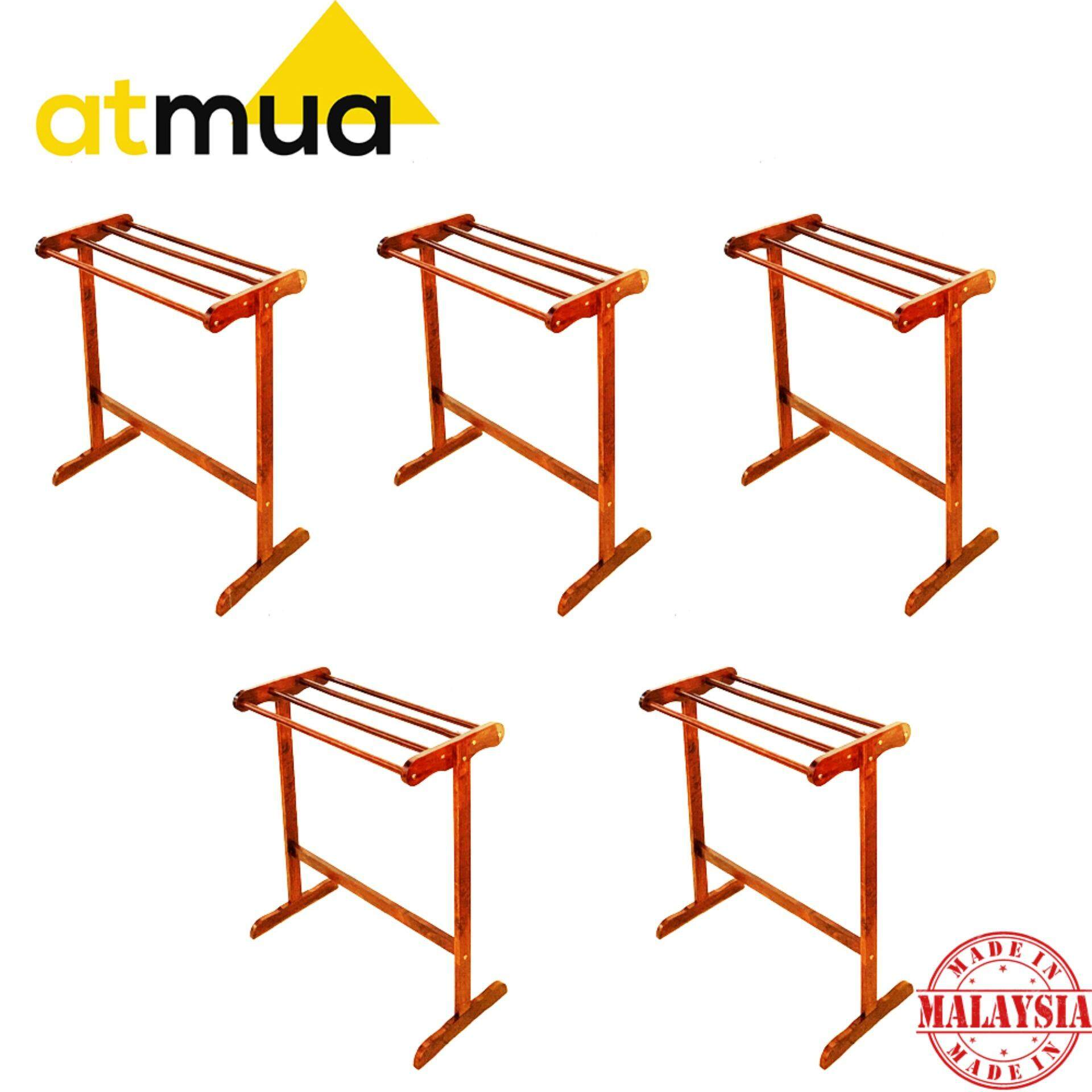 Atmua Habi Small Towel Rack - [Full Solid Wood] *5 Unit*