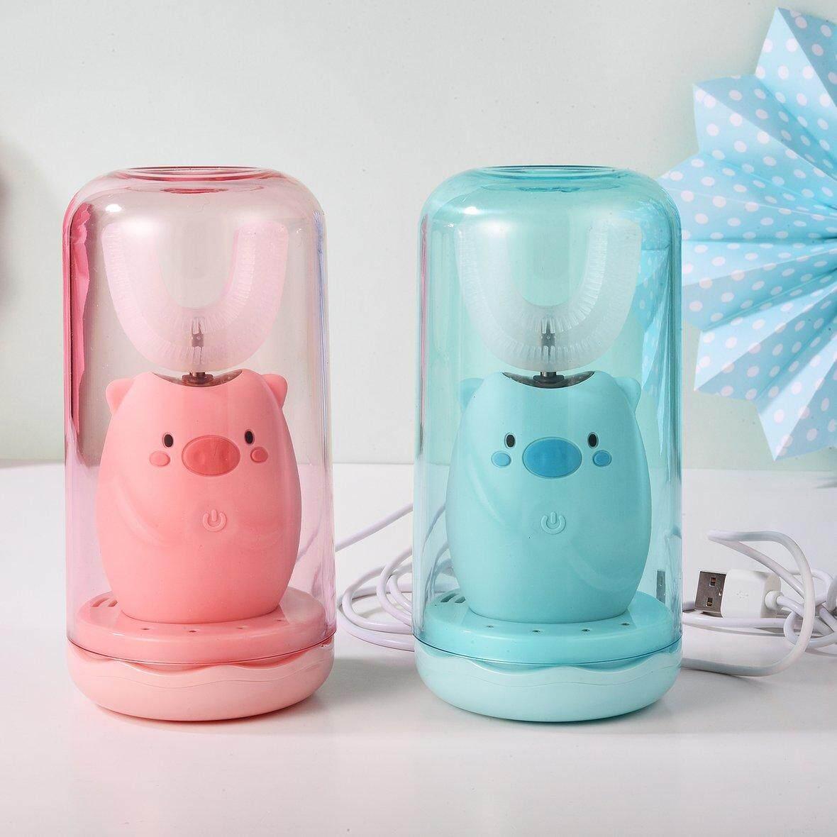 แปรงสีฟันไฟฟ้า ทำความสะอาดทุกซี่ฟันอย่างหมดจด ลำพูน ผู้ขายร้อนเด็ก U Type Electric TOOT hbrush เกี่ยวกับระบบเสียงที่สามารถชาร์จไฟได้อัตโนมัติ TOOT hbrush