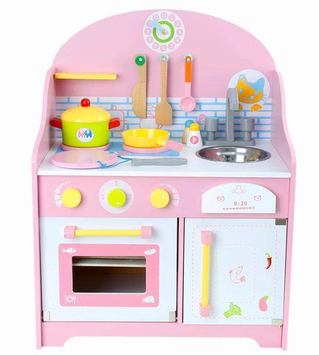 Japanese Wooden Kitchen Playset 10567