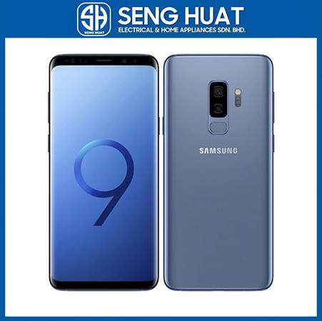 Samsung Galaxy S9 Plus [6GB RAM/128GB ROM] Original Samsung Malaysia Set (Coral Blue)