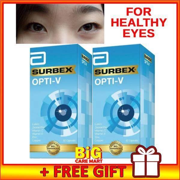 Surbex Opti-V Eye Supplement Lutein + Vit C Vit E 60s X 2bottles