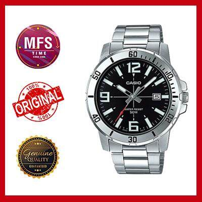 (2 YEARS WARRANTY) Casio Original MTP-VD01D-1BV Dress Analog-Gent's Watch