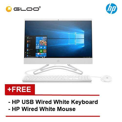 "HP All-in-One 22-c0037d 4EA28AA 21.5"" FHD (Intel i3-8130U, 4GB, 1TB, Intel UHD 620, W10) - White [FREE] HP Keyboard + Mouse"
