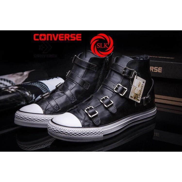 ระนอง Converse ผู้ชายผู้หญิง TOP LOW All Star 1970 S One Star Retro รองเท้าผ้าใบเรืองแสงรองเท้า