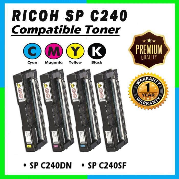 AAA Super Grade RICOH AFICIO C240DN / C240SF CYMK 4 Units Set Toner Cartridge